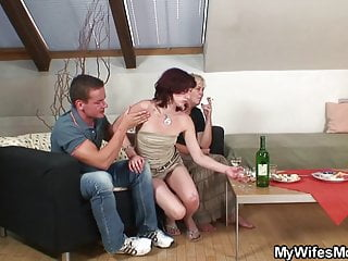 Very old grannies sex tubes Her very old mom and boyfriend taboo sex