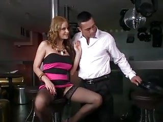 Fucking cat - Abbie cat fucking in black stockings