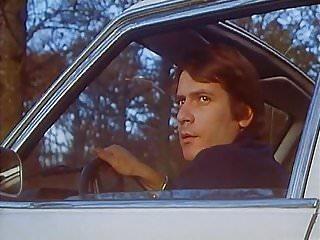 Vintage western auto scooter - Brigitte lahaie in scene 2 auto-stoppeuses en chaleur 1978