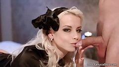 Black Widow Blowjob Blonde