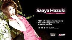 Small titty Saaya rides tha man's small dick hard