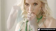Blonde beauty is aware for morning sex