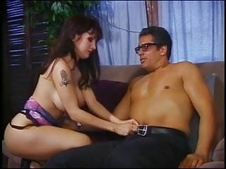 Skanky indian brunette rides dick Beautiful brunette rides a fat nerds big dick at home on the couch