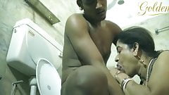 Devar - Bhabhi bathroom sex