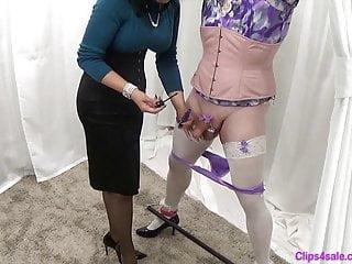Free femdom sissy stories Mistress femdom sissy panty milking handjob