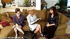 lesbian milfs: penelope, sydney, alex