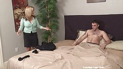 stepmom helps stepson