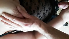Handjob and some Tits in the lunchbreak