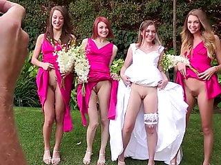 Photo of young nude women Special photo of the bride