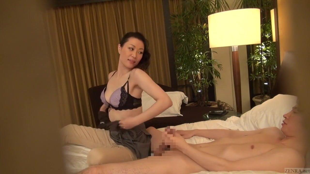Japanese Lesbian Milf Seduce