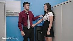 Trickery - Boss' Daughter Tricks New Employee Into Sex