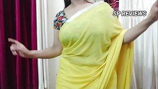 SP Yellow saree