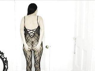 Black girl farting in pantyhose Farting in nylon body stocking