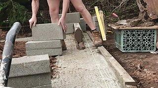 Nudist builder midlands