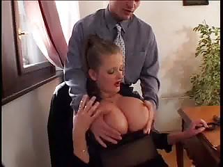 Saggy white tits - Wendy white - big floppy hangers fucked in lingerie