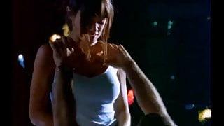 Lisa Boyle rooftop sex