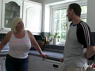 Blonde busty cute natural young Agedlove busty british blonde mature hardcore