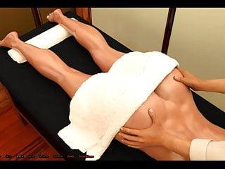 Ass Oil Massage