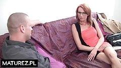 Polish MILF - Sara - Lawyer mom