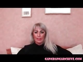 Group mega sex Gangbang archive mega hot mature in stockings orgy