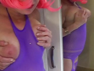 Eufrat tube oiled tits - Big oiled tits and pussy play