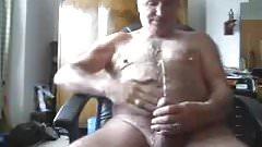 Grandpa peed himself