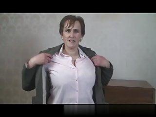 Granny nylons porn sex - Busty mature secretary toys in nylon stockings