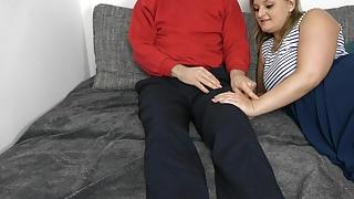 Nerd wants to fuck my ass!!! His first anal sex!