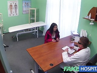 Doctor horny peeing - Fakehospital doctors cock cures loud sexy horny patients ail
