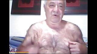 Super Furry Grandad Showing on Webcam