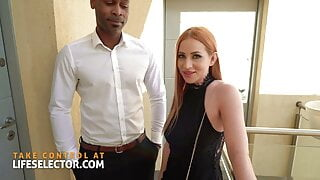 Threesome whore Kiara Lord fucks her way out of a bind