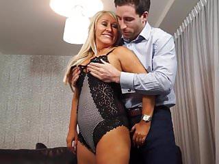 British mom son xxx videos Busty british mom fucked by lucky son