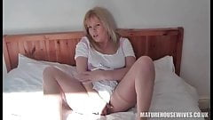 Mature Brit lady