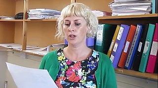 THE WORLD'S HOTTEST BLONDE MILF TEACHER