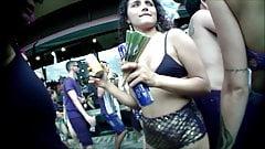 Brasilianischer Carnaval oben ohne