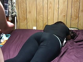 Tube homemade massive cock Massive cumshot on her hot ass in leggings