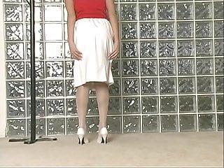 Masturbation movie skirt tgp - Busty babe strips off her skirt and masturbates pussy