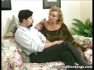 Vintage stockings abi spick span Vintage stockings and anal sex more at amazing stockings web