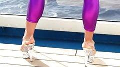 leggins violeta jennifer