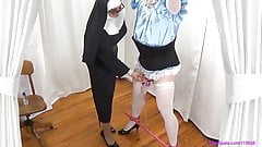 Forced Sissy Crossdresser Handjob By Femdom Mommy Mistress
