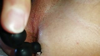 I am horny on my cock while I fuck my asshole