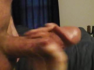 Big brother hand job Hand job with cum in hand