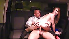 VIPSEXVAULT -Czech Teen Alexis Hardcore Sex with Taxi Driver