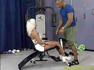 Watch pussy getting pierced Crazy old mom gets fucked hard in her pierced pussy