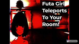 Lewd ASMR Roleplay Futa Girl Teleports To Your Room!