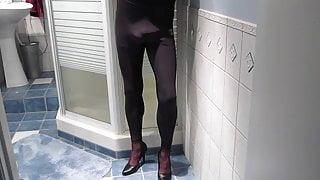 Bathroom nylon cum