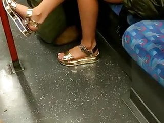 Latest sex videos on tube 8 Candid feet - american girl on tube train