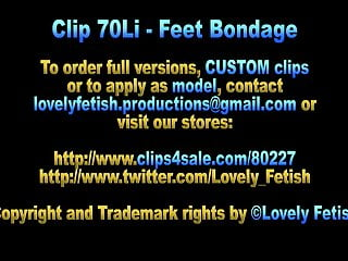 Bondage video clips twisted california Clip 70li - linked berlin in feetbondage - sale: 12