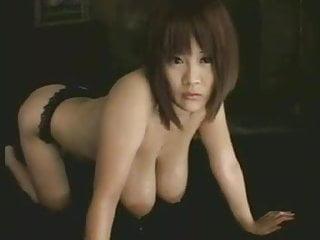 Japanese women drinking milk from breast - Saging breasts full of milkmrno