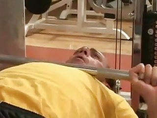 Erection pic voyeur - Erection in the gym